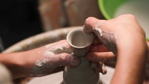 young adult cancer pottery